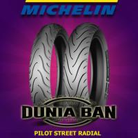PAKET BAN RING 17 MICHELIN PILOT STREET RADIAL UK 120/70 & 160/60