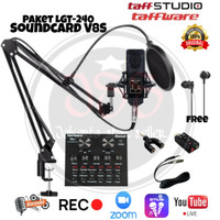 Paket Mic/Microphone LGT-240 Stand Arm V8S,