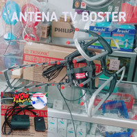 ANTENA TV BOOSTER ANTENA REMOT TERMURAH