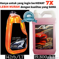 PREMIUM 5L Car Shampoo/Shampoo Mobil with Conditioner