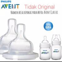 Silicone Nipple Avent Classic / Dot botol Susu avent classic