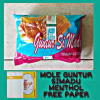BAKO MOLE GUNTUR SIMADU MENTHOL 45gr FREE PAPER