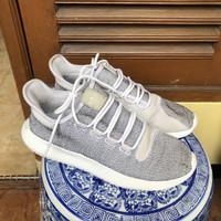 Adidas tubular shadow black original ori grey running sports sepatu