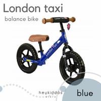 London Taxi Balance Bike - blue