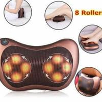 Alat Bantal Pijat Car & Home 8 bola/Kneading Massage Pillow