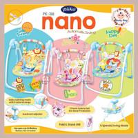Pliko Nano Rocking Chair PK-318 Baby Swing - Merah Muda