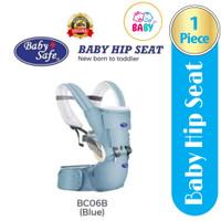 Baby Safe Baby Hip New Born To Toddler Gendongan Bayi BC06 - Blue #03