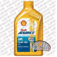 Oli Shell advance AX5 4T 15W-40 800 mL / 0.8 Liter