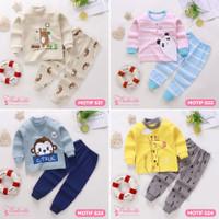Baju Kaos Setelan Anak Bayi Lengan Panjang Lucu Import Laki Perempuan - S21, 73