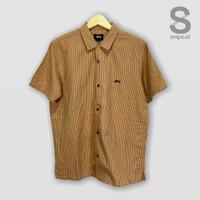Stussy Australia Release Scout Shirt Tan Kemeja
