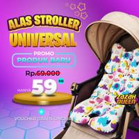 Alas Stroller Bayi Universal Baby Car Seat Stroller Pad 5 Lubang