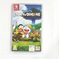 Doraemon story of seasons switch game fisik