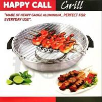 Happy Call Grill Roasted Pan Alat Panggang Panggangan Sate Sosis burge
