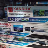 lampu uv kandilla kd 30 watt ampuh untuk atasi lumut dan bakteri .