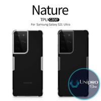 Soft Case Nillkin Nature TPU Samsung Galaxy S21 Ultra Ori Cover Casing