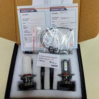 Bohlam LED mobil H11 H16 H8 merk Osram XLZ New Gen