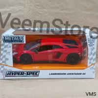 Die Cast 1:24 Lamborghini Aventador SV Hyperspec Red [jada]