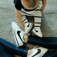 sepatu sneaker anak dan sepatu dewasa nike cortez (couple)
