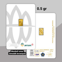 0.5 GRAM CERTICARD EMAS ANTAM LOGAM MULIA