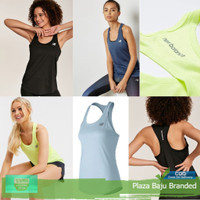Pakaian Olahraga Wanita Tanktop Sportswear NB New Balance Original