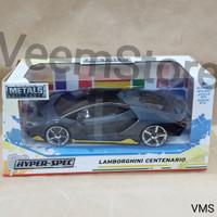 Die Cast 1:24 Lamborghini Centenario Hyperspec Dark Grey [jada]