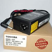 Adaptor Charger Original Laptop Toshiba Satellite L510 L740 L600 C600