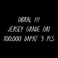 OBRAL JERSEY GO Baju Bola 100 rb 3 PCS murah 3PCS CEK DESKRiPSi Futsal