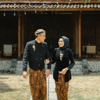 Murah Baju Prewedding Couple Adat Jawa - Solo, Motif Semenromo Limite