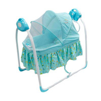 Ayunan Bayi Baby Elle BabyElle Automatic Cradling Swing - Biru