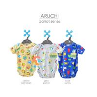 ARUCHI Jumper Bayi - Baju Kodok Segitiga Size S-M-L (3-12 Bulan)