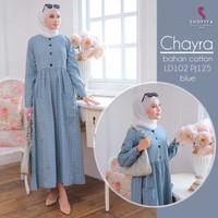 CHAYRA DRESS original by Shofiya Hijab/ Gamis Syari/ Dress Muslimah