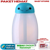 BAYMAX MINI Pelembab Ruangan Aroma Terapi / Lampu Tidur RGB Humidifier