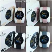 Jam Tangan Wanita Digitec Smart Watch Strap Karet LITE Original