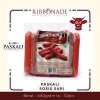 Sosis Sapi Premium - PASKALI (Sosis & Baso Pasirkaliki Bandung) 480gr