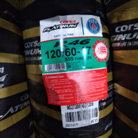 ban Motor CORSA PLATINUM R46 120/60-17 ring 17 soft compound