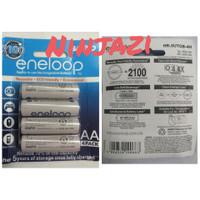 batre batterai recharge sanyo eneloop putih ukuran AA 1.2 volt isi 4pc