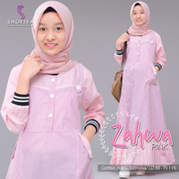 ZAHWA DRESS ori by Shofiya Hijab - Pink