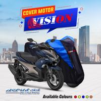 TERMURAH Cover sarung motor Aerox Penutup Pelindung Motor Aerox - Kuning