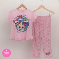 Baju Tidur Anak Perempuan / Piyama Anak Cewek Motif LOL - Pdk Pjg - 8