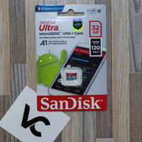 MicroSD SanDisk Ultra 32GB Memory Card A1 32 GB Class 10 Micro SD