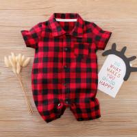 Romper baby boy red / Baju sincia cny imlek kerah merah