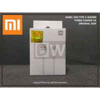 KABEL USB TYPE C XIAOMI TURBO MI 10 10T REDMI NOTE 9 PRO FAST ORIGINAL