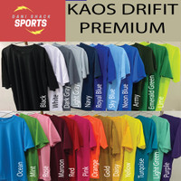 Kaos drifit Polos Oblong Dry-fit dryfit olahraga sport premium