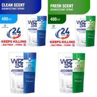 WIZ24 DISINFECTANT REFILL 400ML / WIZ 24 DISINFECTANT REFILL 400 ML