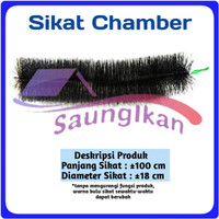 Sikat Brush Chamber Media Filter Kolam 100 cm