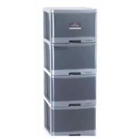 Khusus Lemari Laci Plastik Lion Star Susun 4 Excel Container kontainer