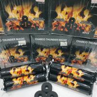 Arang Magic Charco Lite LAVA 1 BOX Isi 8 ORIGINAL Arang Magic