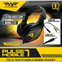 Headset Armagedon Pulse 7 Mobile