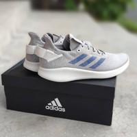 Sepatu Sport Pria ADIDAS SenseBOUNCE+ Street Grey 100% Original BNIB