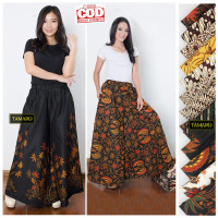 Kulot Batik Pekalongan Modern Jumbo Model Payung Bahan Katun